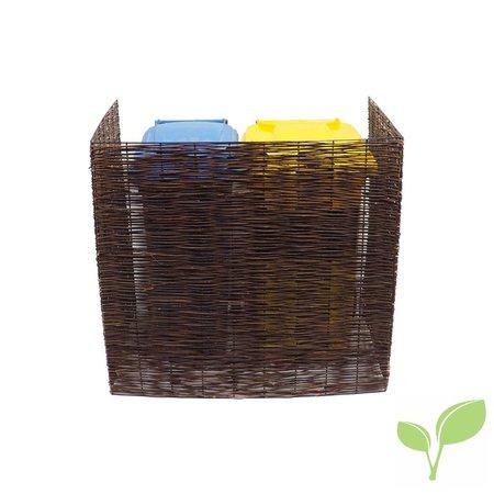 Wilgen container ombouw (dubbel)
